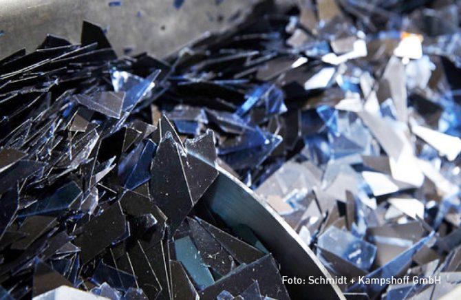 Entsorgungsanlage der Schmidt + Kampshoff GmbH Rhede – zweiter Schredder, Foto: Schmidt + Kampshoff GmbH