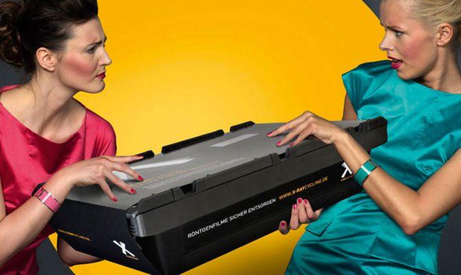 Jetzt Platz schaffen im Archiv: Mit der kostenfreien Röntgenfilm-Box!